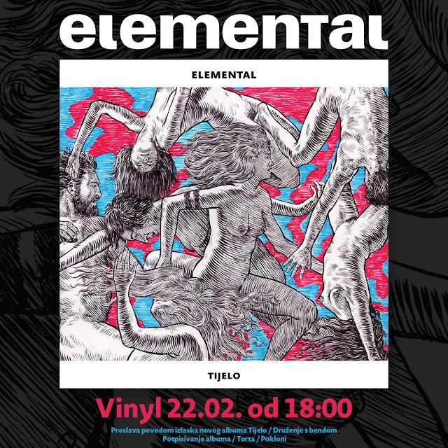 """Elemental slavi izlazak duplog albuma """"Tijelo"""""""