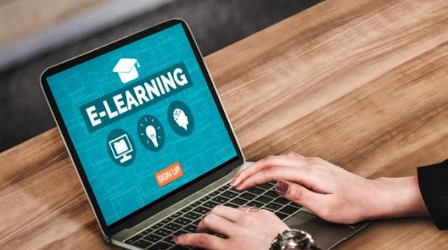 Contoh Laporan Belajar Online