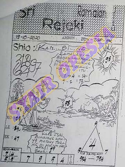 Kode syair Hongkong senin 19 oktober 2020 92