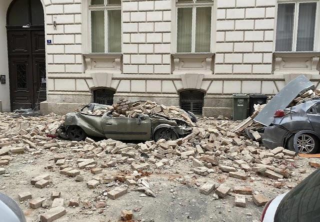 Zágrábi földrengés: meghalt egy 15 éves fiú, hatalmas a pusztítás