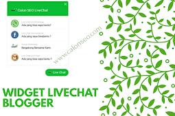 Cara Pasang Widget Live Chat Di Blogger
