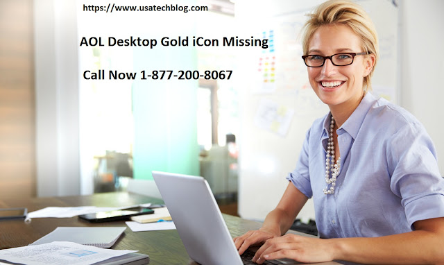 Learn About AOL Desktop Gold Icon Missing How to Fix
