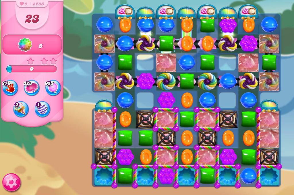 Candy Crush Saga level 8238