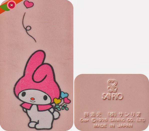 peigne kawaii My Melody by Sanrio