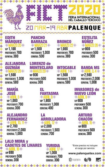 palenque feria del caballo texcoco 2020