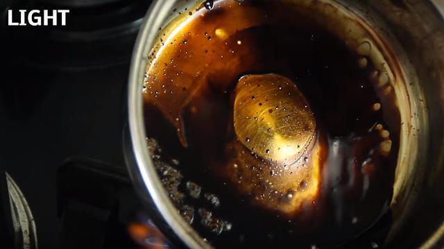 coca cola, light, hervir, restos, experimento