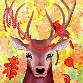 animal painting merch
