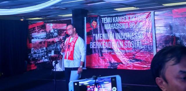 """Temu Kangen Aktivis Angkat Anies Jadi """"Gubernur Indonesia"""""""
