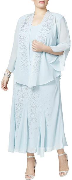 Cute Plus Size Mother of The Bride Dresses