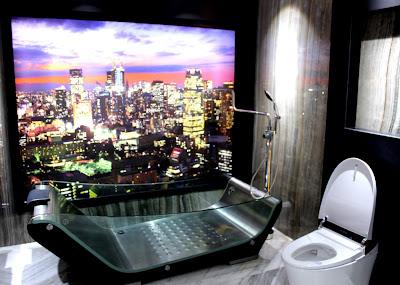 contoh kamar mandi yang menggunakan bath tub