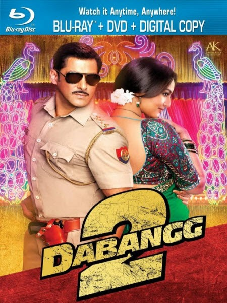 Dabangg 2 (2012) BRRip 720p 950MB AC3 5.1
