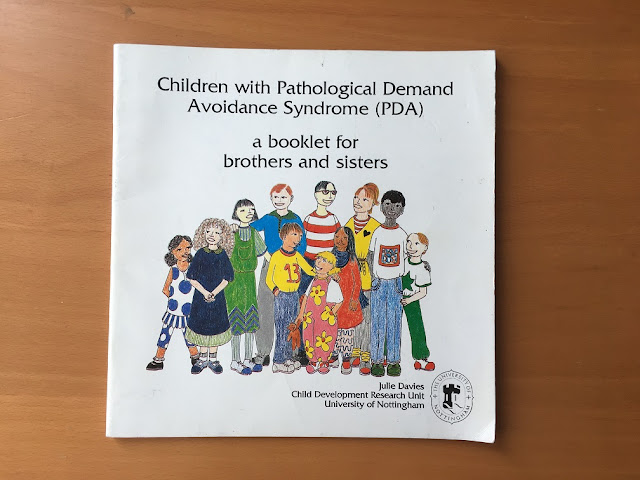 children with pathological demand avoidance syndrome (PDA)