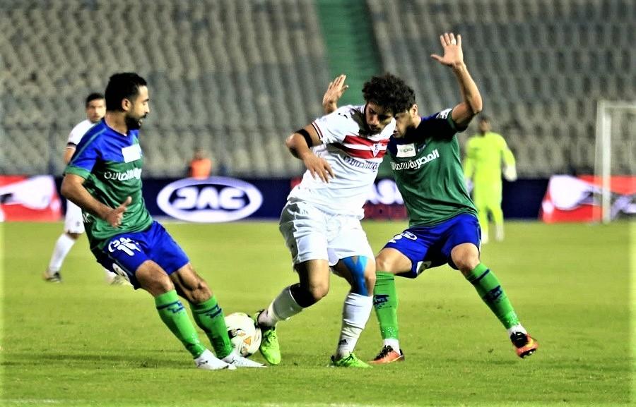 موعد مباراة الزمالك ضد مصر المقاصة في كأس مصر والقنوات الناقلة