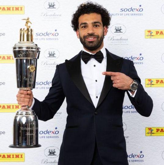 mohamed salah picks pfa men's player of the year