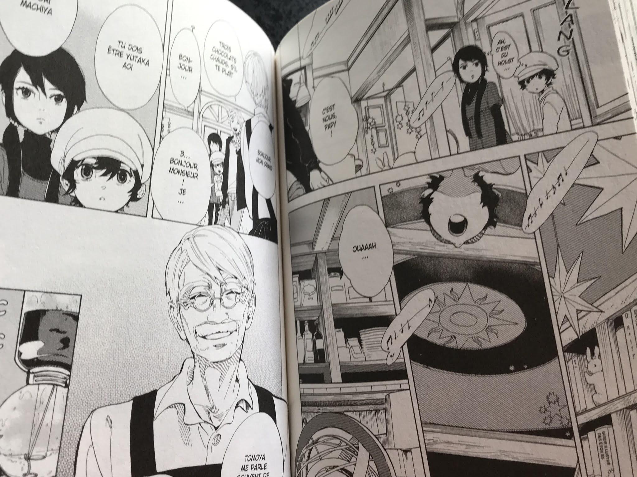 manga adolescent