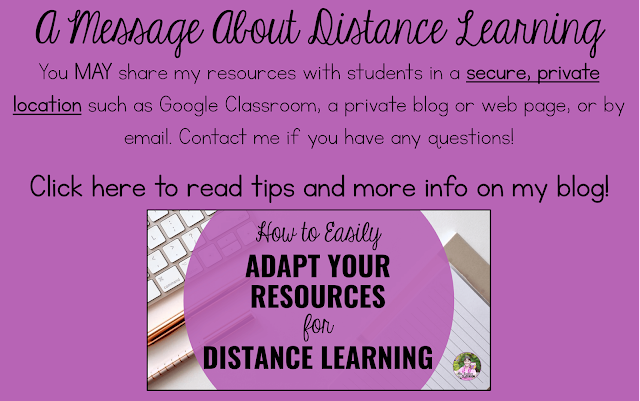 Click here to read tips for Distance Learning!