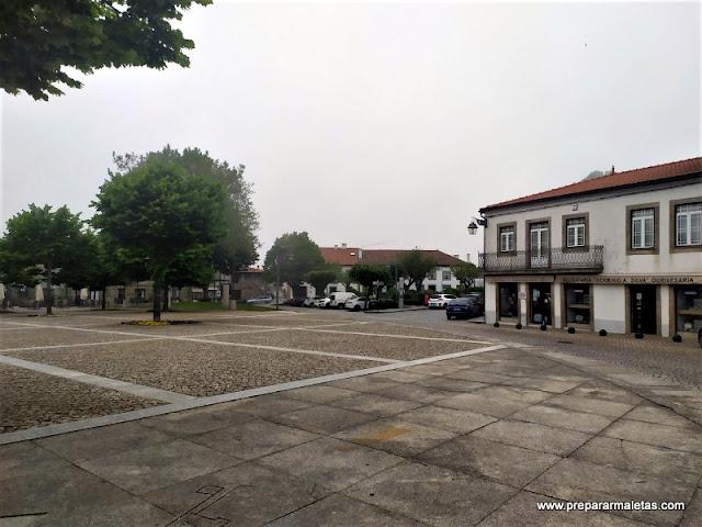 plaza principal que ver en Trancoso Portugal