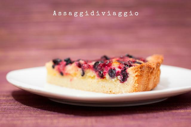 crostata con crema frangipane ai frutti di bosco di Ernst Knam