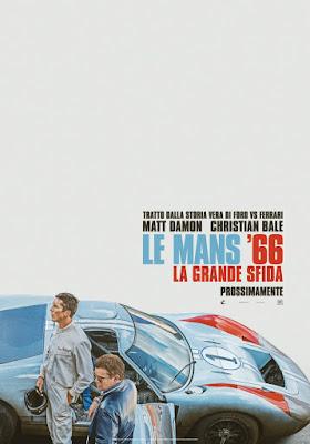 Ford v Ferrari Poster Film