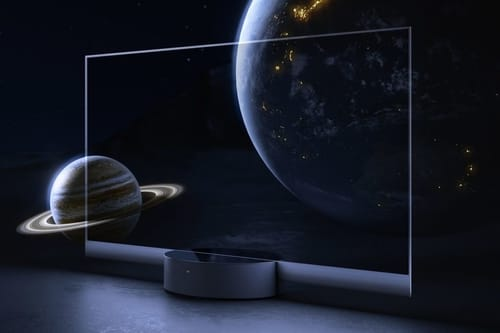 Xiaomi's new transparent OLED TV costs $ 7000