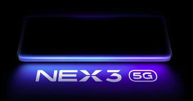 Vivo Nex 3 and Nex 3 5G key specifications leaked