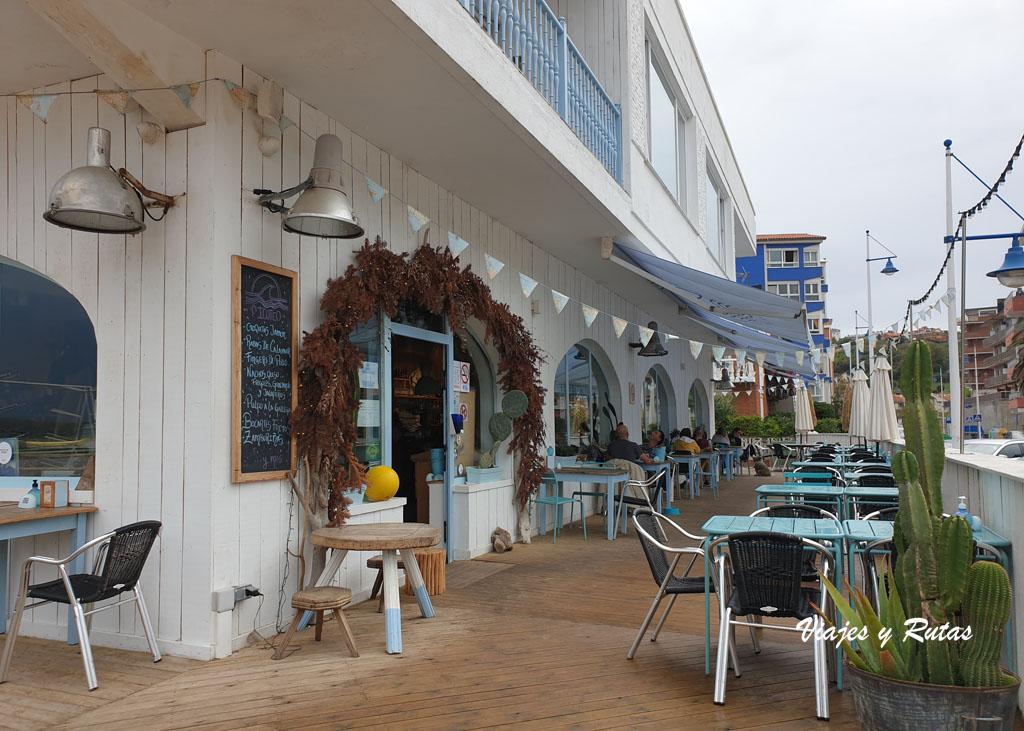 Terraza del Restaurante La Surfería de Suances