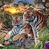 Juego Visual: ¿Cuántos tigres logra ver en esta imagen?