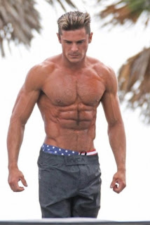 zac efron buff