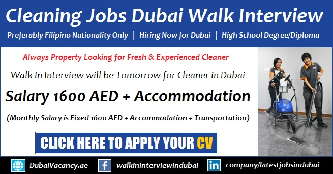 how to get a job in dubai for freshers