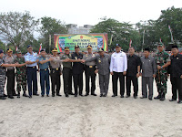 Pasca Penurunan Patung Vihara, TNI-Polri dan Pemda Gelar Bakti Sosial di Tanjung Balai