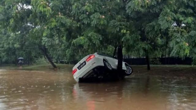Lho Kok Pemilik BMW Hanyut di Tangsel Tuntut Anies Baswedan?