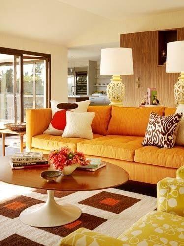 Mode Ruangan Dengan Desain Interior Gaya Retro