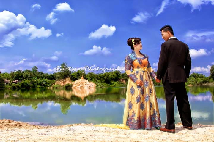 Pre Wedding Casual Outdoor Pantai