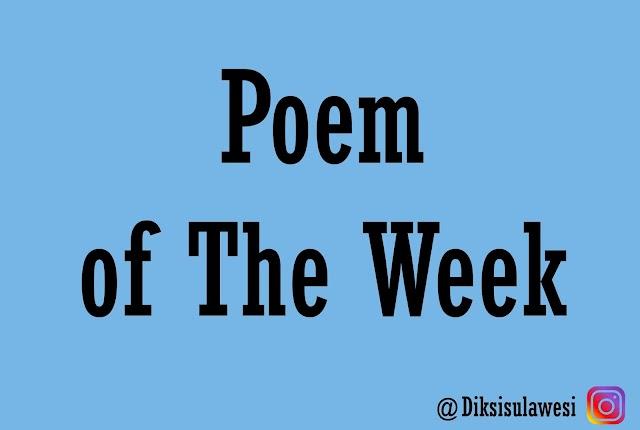 Poem of The Week #13: Seperti Petrichor II