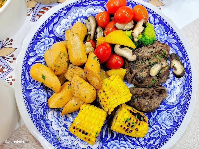 10 Jenis Menu Makan Malam Aku Hanya RM68 Sahaja!
