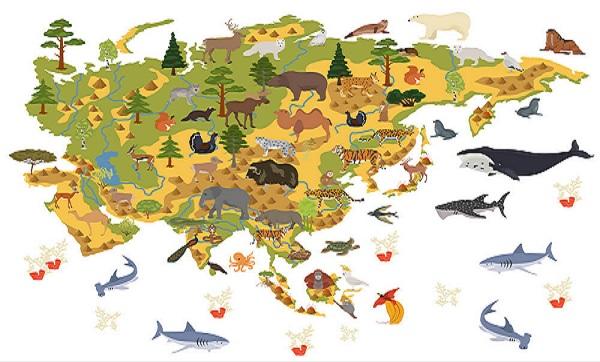 Persebaran Flora dan Fauna di Dunia