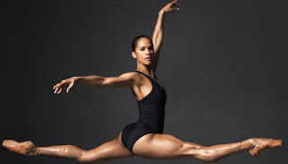 Misty Copeland posing for a picture