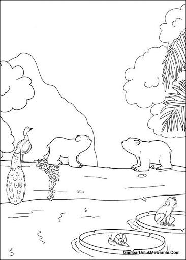 belajar menggambar pemandangan alam