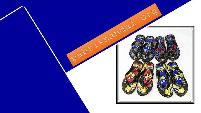 Pabrik Sandal Karakter Termurah - Sandal AMX Karakter Spon TG