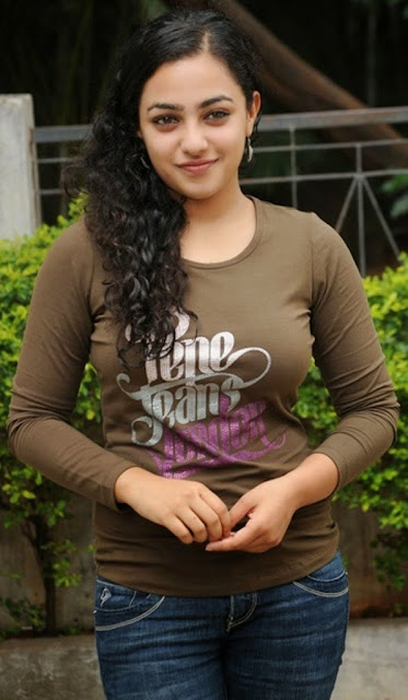 Nithya Menon Spicy Indian Film Actress and Playback Singer very beautiful and hot sexy stills Wallpapers Free Download