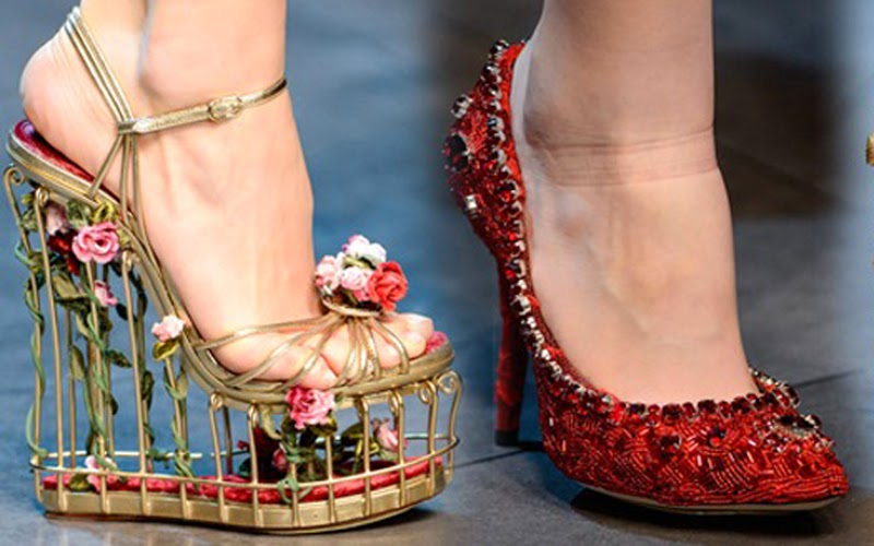 dolce&gabbana d&g fall/winter 2013 collection review shoes