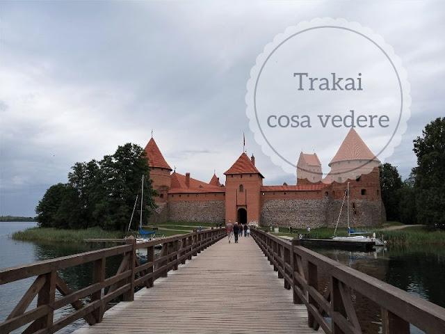 Cosa vedere a Trakai: il castello sull'isola