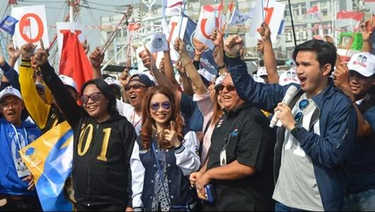Kumpul di Pelabuhan, WNI di Taiwan Deklarasi Dukung Jokowi-Ma'ruf