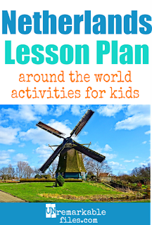 Building the perfect Netherlands lesson plan for your students? Are you doing an around-the-world unit in your K-12 social studies classroom? Try these free and fun Holland activities, crafts, books, and free printables for teachers and educators! #holland #netherlands #lessonplan #educational #kids