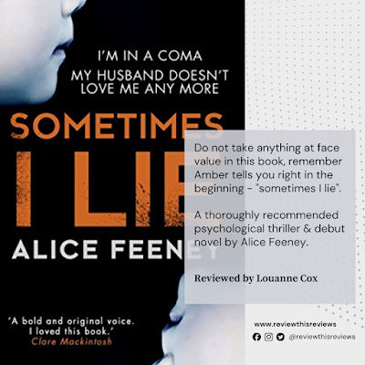 Sometimes I Lie reviewed - a dark psychological thriller with a number of twists