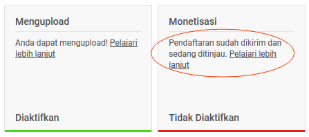 Cara Menautkan Channel Youtube dg Adsense
