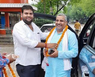 भाजपा काशी प्रांत के प्रवासी संपर्क प्रकोष्ठ का हुआ स्वागत  | #NayaSaberaNetwork
