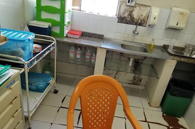 Situação caótica do hospital municipal de Chapadinha 5
