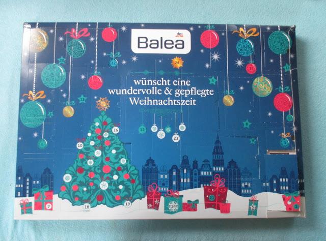 adventní kosmetický kalendář balea