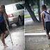 Lalaking Putol ang Binti, Matyagang Nagbebenta ng Sampaguita kahit Umuulan Para sa Pamilya